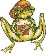 Poet soul frog