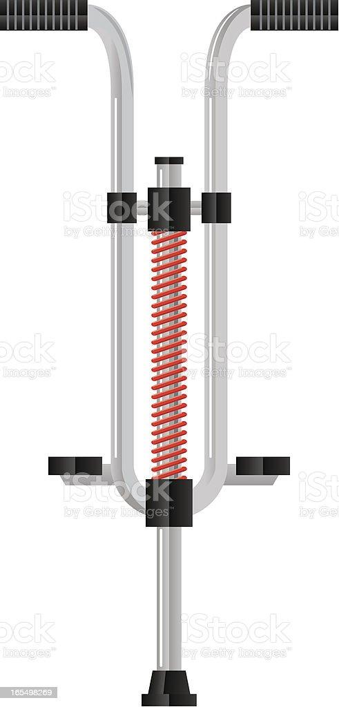 Royalty Free Pogo Stick Clip Art Vector Images