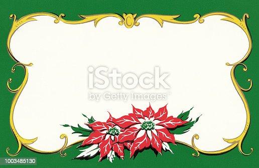 Poinsettia Border