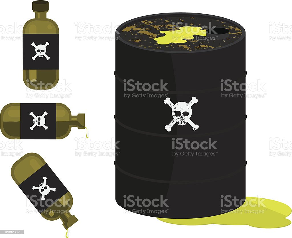 Poison royalty-free stock vector art