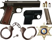 Police Equipment Set