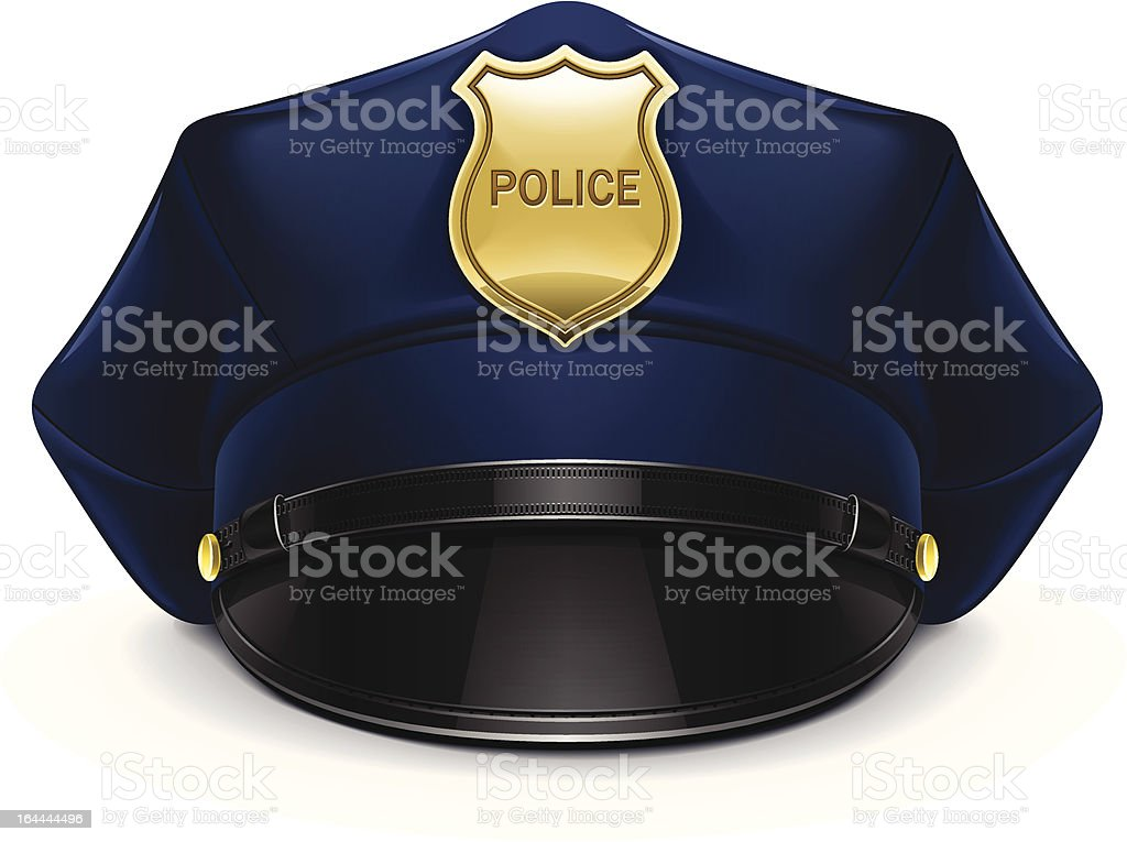 royalty free police hat clip art vector images illustrations istock rh istockphoto com police officer cap clipart police hat clipart