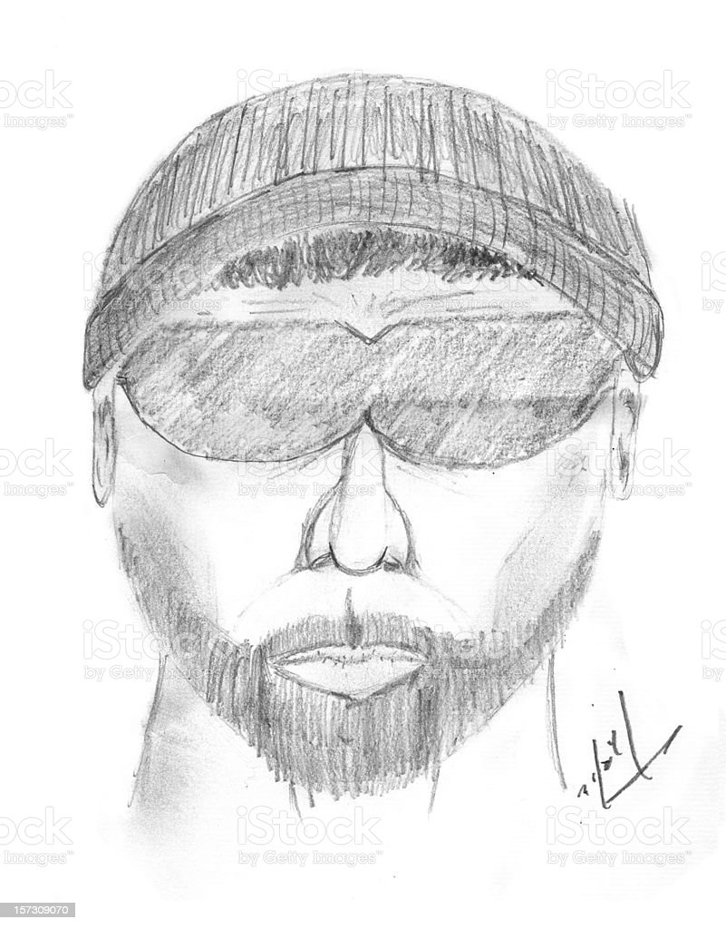 Police Sketch Stock Illustration Download Image Now Istock