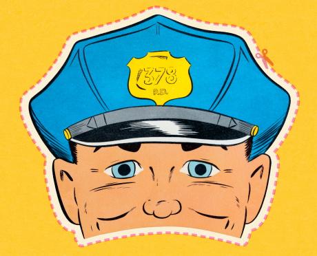 Policeman Mask