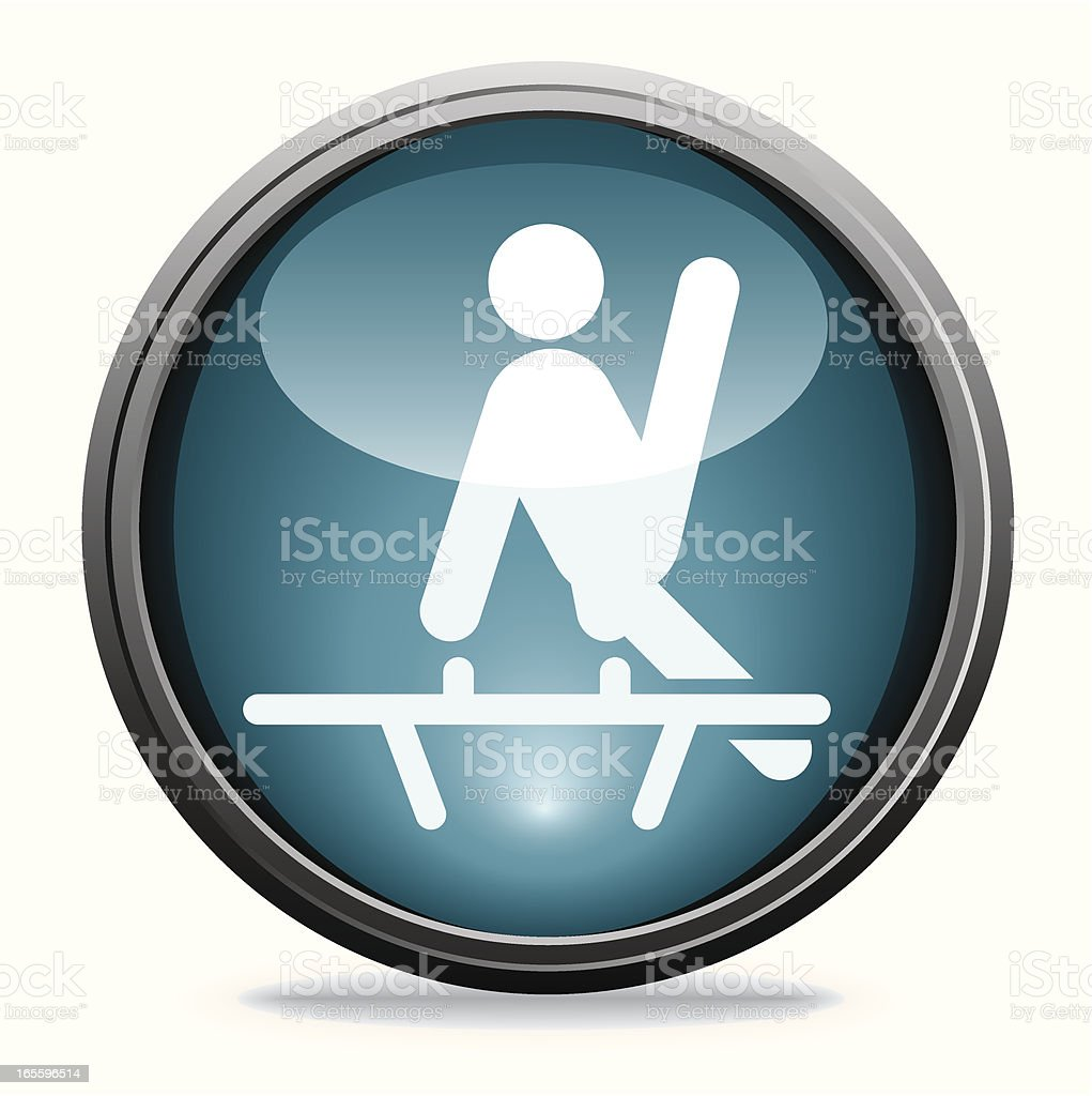 Pommel Horse | Glass Collection royalty-free pommel horse glass collection stock vector art & more images of blue
