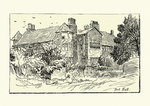Poole Hall, Ellesmere Port, 17th Century English Country house