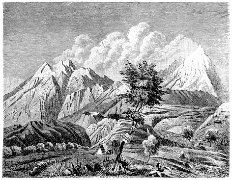 """Popocatépetl and Iztaccíhuatl refers to the volcanoes Popocatépetl (""""the Smoking Mountain"""") and Iztaccíhuatl (""""white woman"""" in Nahuatl, sometimes called the Mujer Dormida """"sleeping woman"""" in Spanish) in Izta-Popo Zoquiapan National Park"""