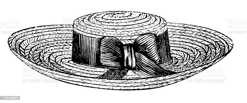 Pastel de carne de cerdo sombrero/Ilustraciones de diseño antiguo ilustración de pastel de carne de cerdo sombreroilustraciones de diseño antiguo y más banco de imágenes de accesorio personal libre de derechos