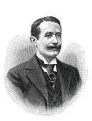 istock Portrait Abel Hermant, french journalist 1327139946