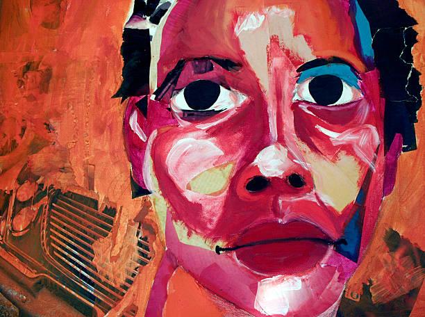 Portrait  disjointed stock illustrations