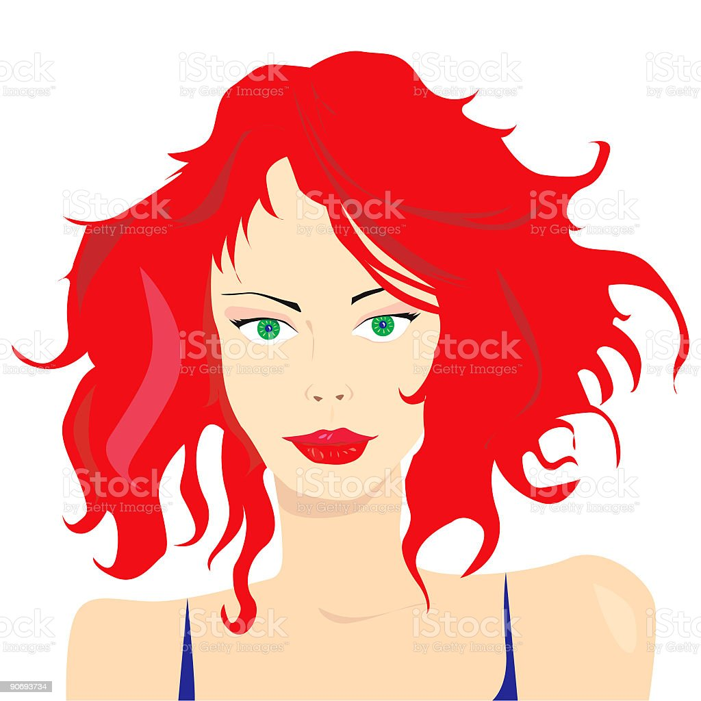 Portrait of a beautiful woman royalty-free portrait of a beautiful woman stock vector art & more images of adult