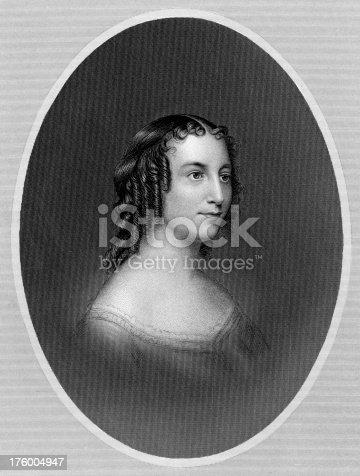 istock Portrait of Actress Anna Cora Mowatt circa 19th Century 176004947