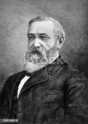 Portrait of Benjamin Harrison - 23rd President of the United States - 1888