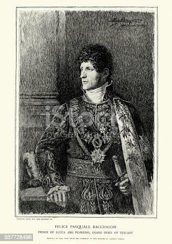 istock Portrait of Felice Pasquale Baciocchi 537728496