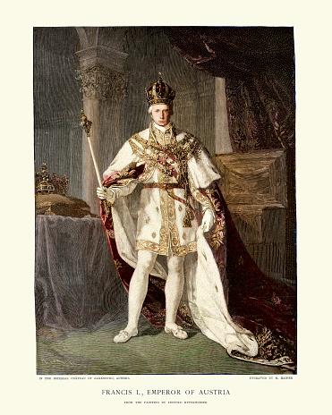 Portrait of Francis II, Holy Roman Emperor
