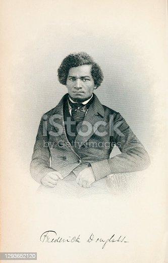istock Portrait of Frederick Douglass 1293652120