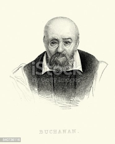 istock Portrait of George Buchanan 540736116