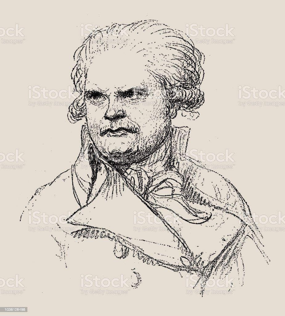 Georges Danton portrait of georges danton french revolutionary