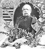 Portrait of King Albert of Saxony