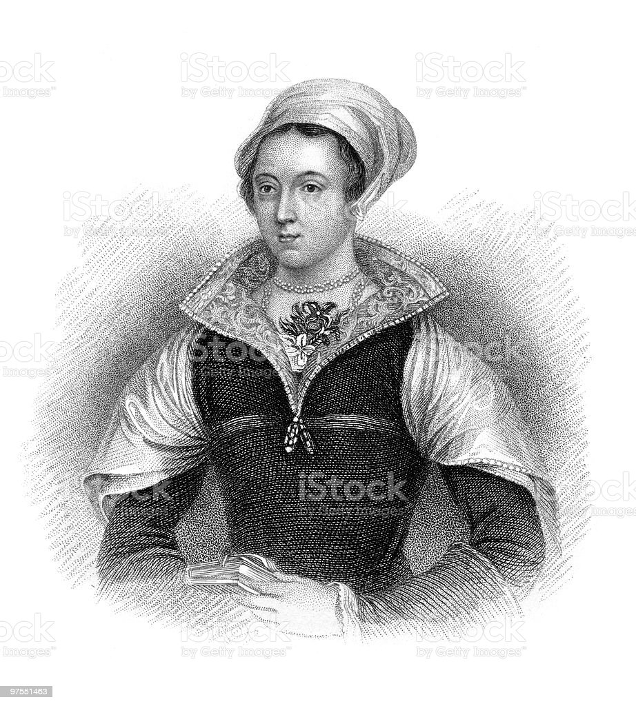 Portrait of Lady Jane Grey royalty-free portrait of lady jane grey stock vector art & more images of 16th century style