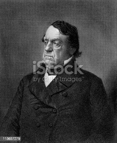 istock Portrait of Lewis Cass 113657279