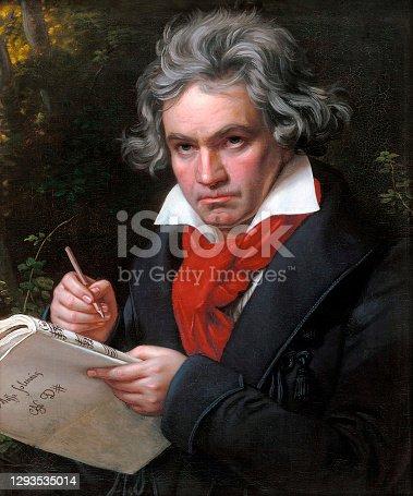 istock Portrait of Ludwig Van Beethoven 1293535014