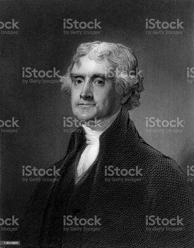 Portrait of Thomas Jefferson royalty-free portrait of thomas jefferson stock vector art & more images of 19th century style