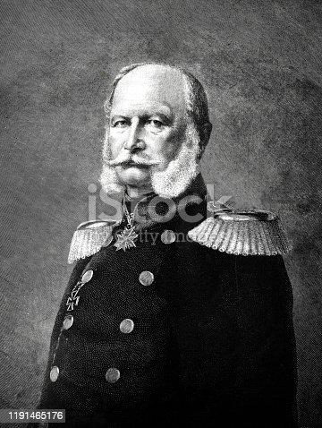 Portrait of Wilhelm I Hohenzollern