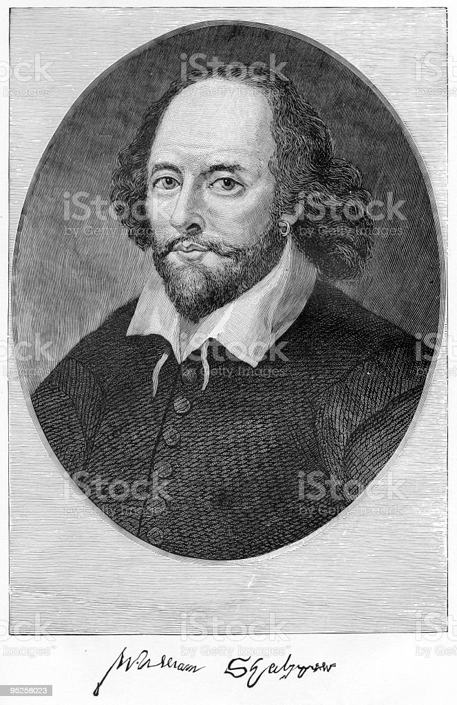 A portrait of William Shakespeare in pen and ink royalty-free a portrait of william shakespeare in pen and ink stock vector art & more images of adult