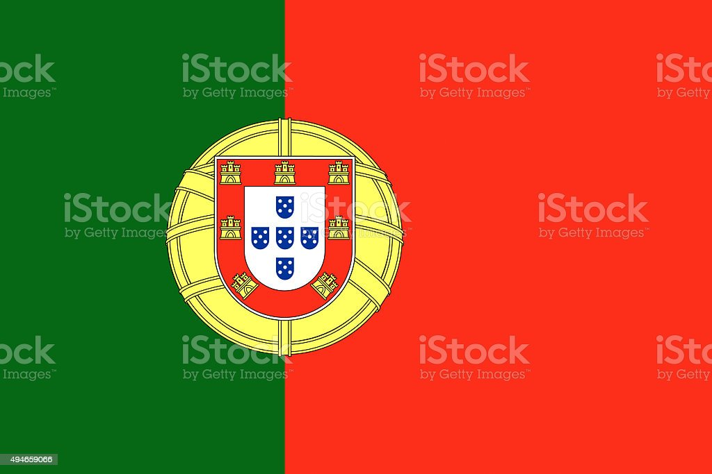 Bandeira de Portugal ilustração de países europeus, - ilustração de arte vetorial
