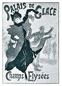 istock Poster for Palais de Glace, Champs Elysées, Paris, 1896 1324382078