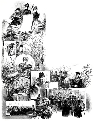 Poster of the oriental kitchen for soldiers