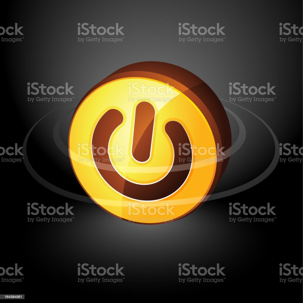 Power button royalty-free power button stock vector art & more images of abstract