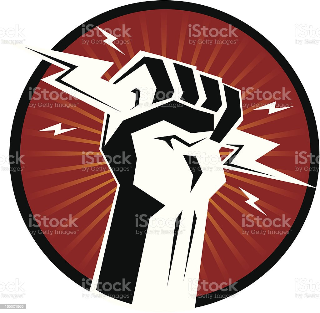 power hand royalty-free power hand stock vector art & more images of cable