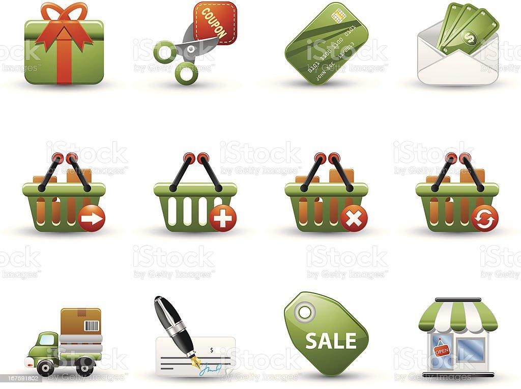 Premium Series: Shopping royalty-free premium series shopping stock vector art & more images of basket
