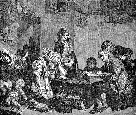 Presbyterian Family in Scotland - 18th Century