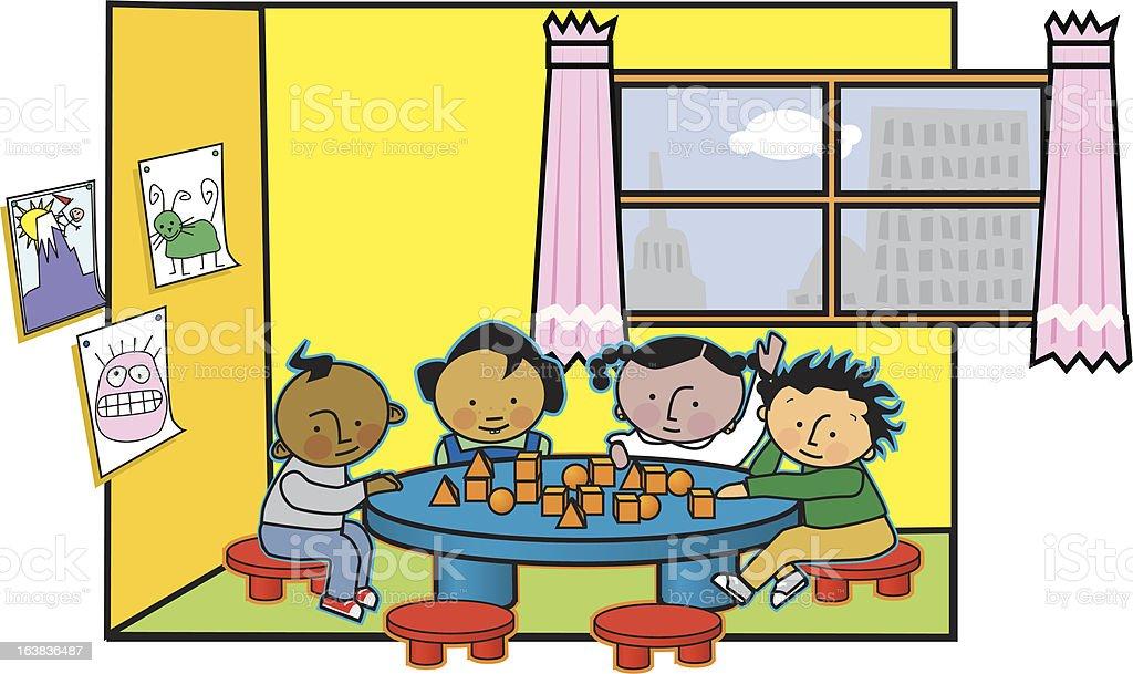 preschool royalty-free stock vector art