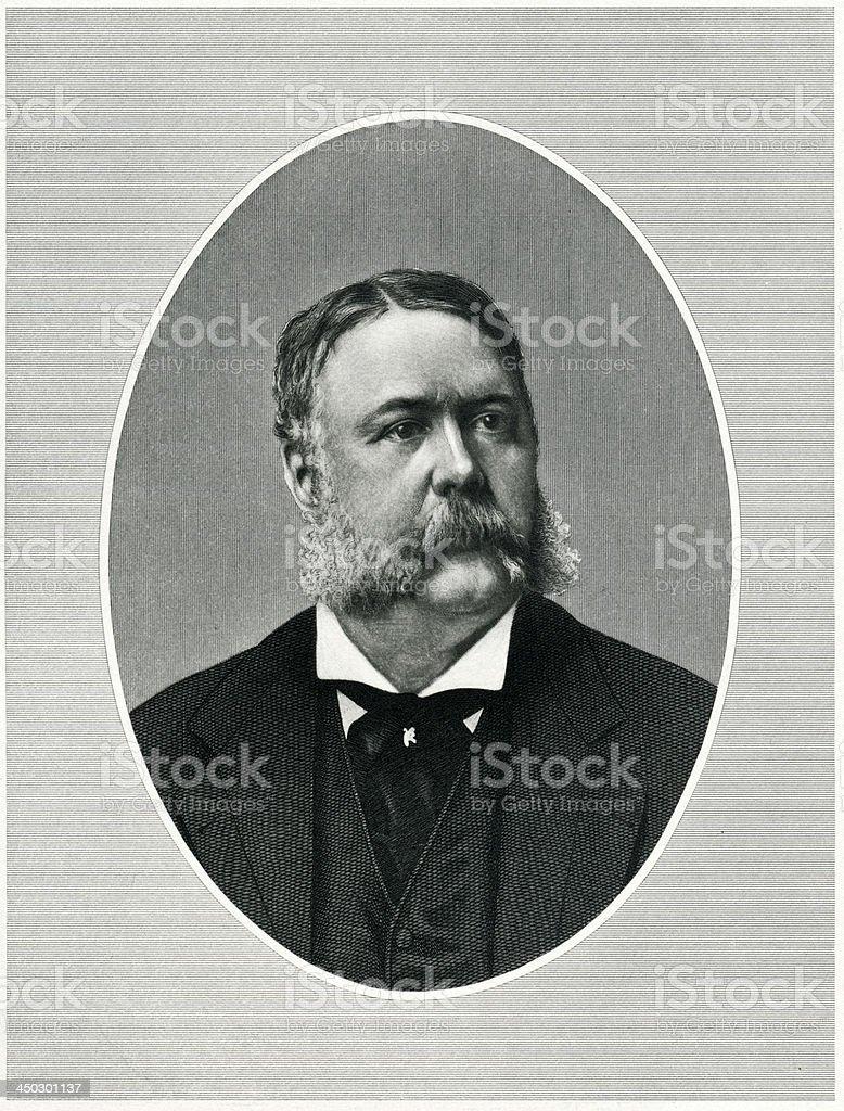 President Chester Alan Arthur royalty-free president chester alan arthur stock vector art & more images of 19th century