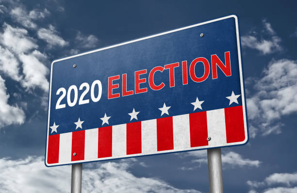 2020 Presidential Election in the United States of America 2020 Presidential Election in the United States of America election stock illustrations