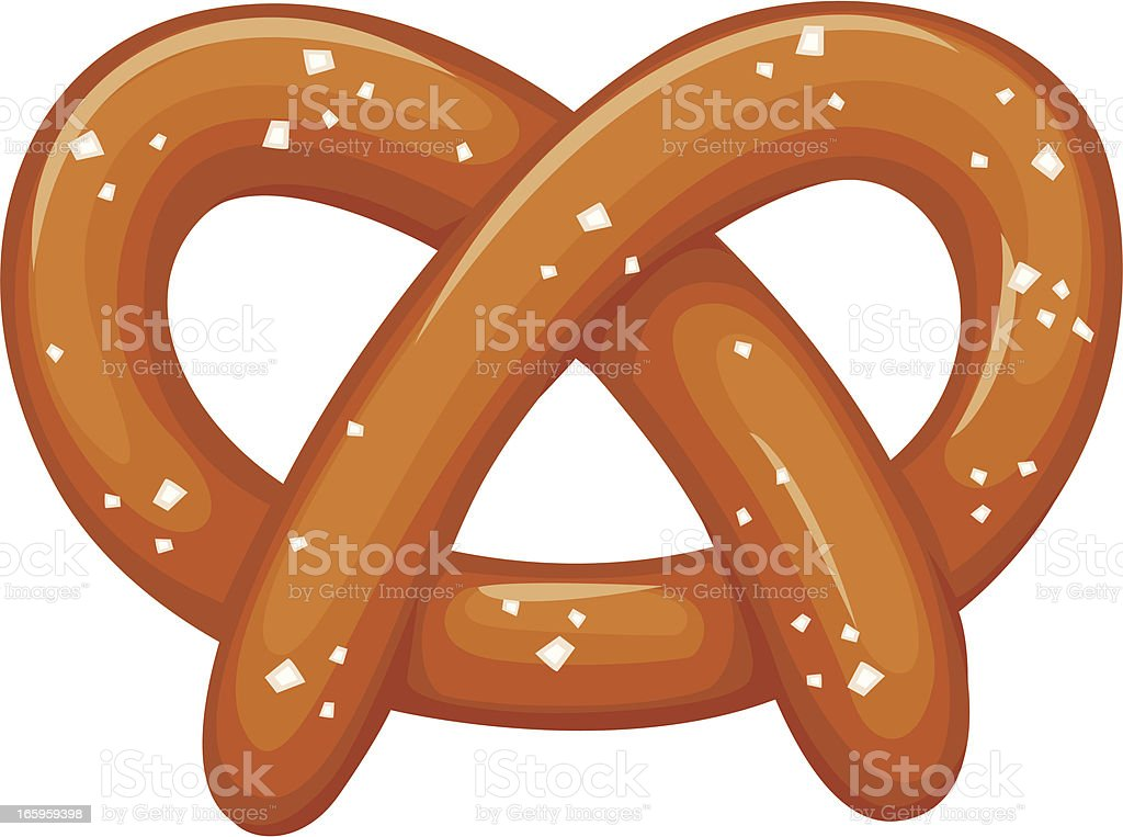 royalty free pretzel clip art vector images illustrations istock rh istockphoto com hot pretzel clip art pretzel clip art black and white