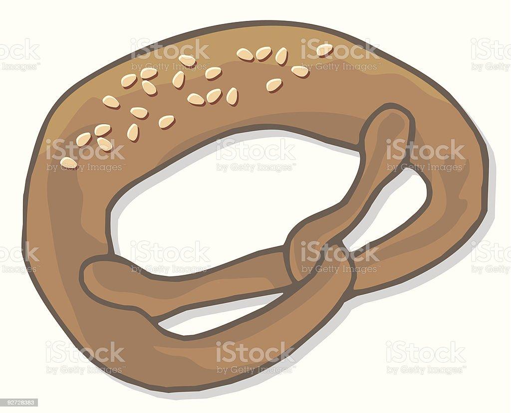 Pretzel royalty-free pretzel stock vector art & more images of baked