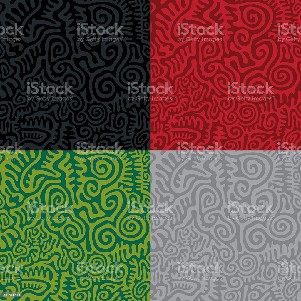 Primitive Seamless Pattern royalty-free primitive seamless pattern stock vector art & more images of backgrounds