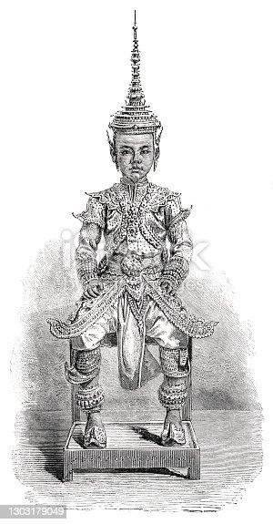 istock Prince of Siam 1863 1303179049