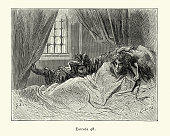 istock Princes enchanted sleep disturbed . Orlando Furioso 1193304961