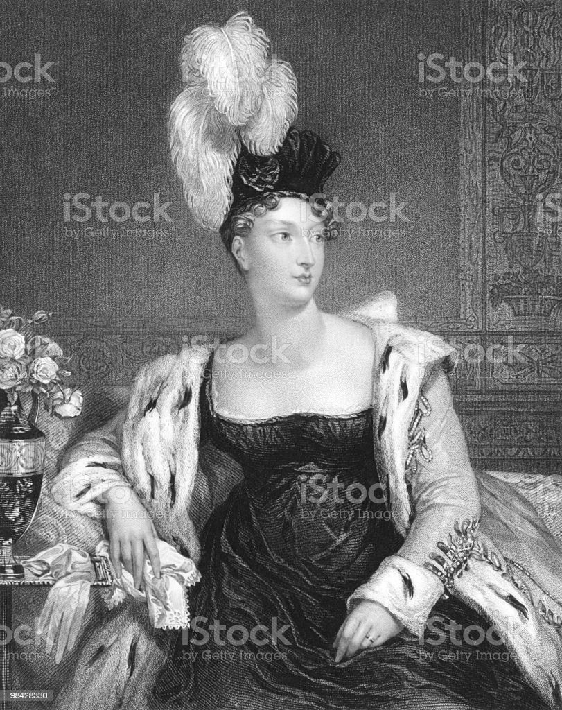 Princess Charlotte Augusta of Wales royalty-free princess charlotte augusta of wales stock vector art & more images of adult