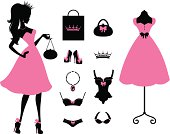 A cute Princess and fashion items. Click below for more shopping and fashion images.
