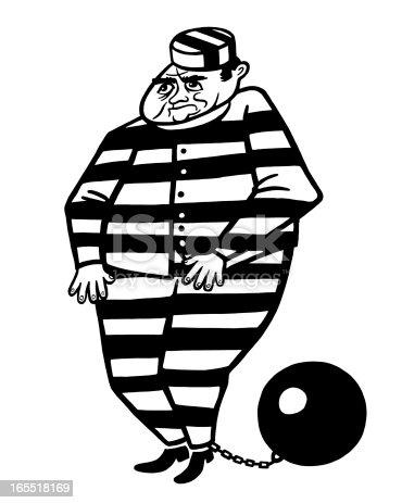 prisonnier avec boulet au pied cliparts vectoriels et plus d 39 images de adulte 165518169 istock. Black Bedroom Furniture Sets. Home Design Ideas