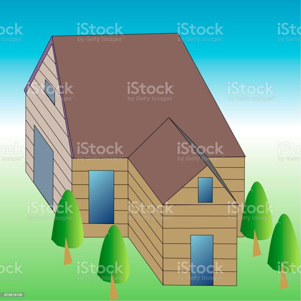 Résidences privées résidences privées – cliparts vectoriels et plus d'images de carré - composition libre de droits