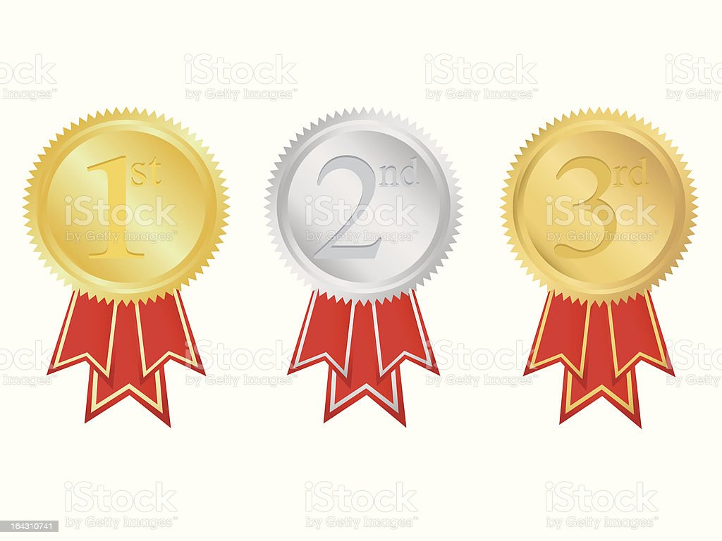 Prize medals royalty-free prize medals stock vector art & more images of achievement