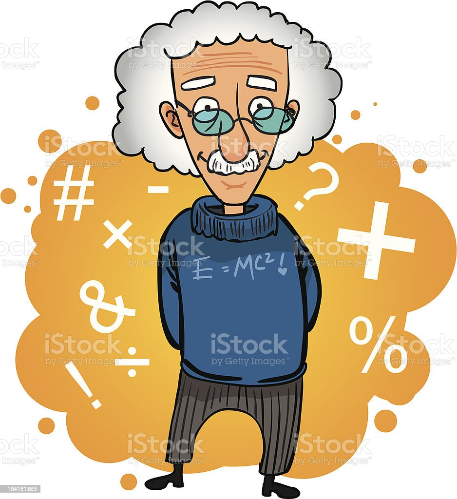 professor (Vector) royalty-free stock vector art